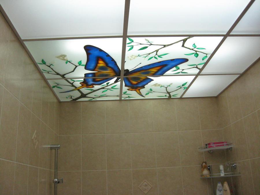 Какие бывают подвесные потолки фото